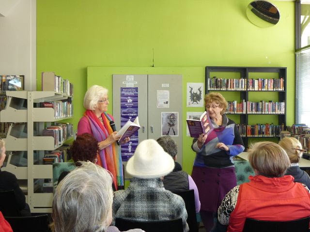 Author talk at Cessnock Library